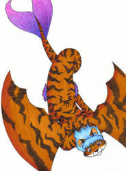 TK Mer-Tiger Form by tigerskitten