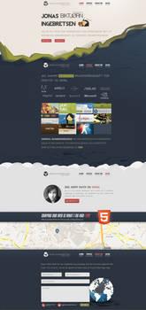 PORTFOLIO 2013 - WEB DESIGN by JonasIngebretsen