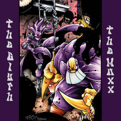 The Glyph + The Maxx Vs The Isz! By Johnny Segura! by Estonius