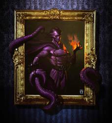 ''Estonius' Purple Creature'' By Antonio De Luca by Estonius