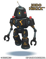 A Robo Named Jodo [Hirzx]! By Alan Blackwell! by Estonius