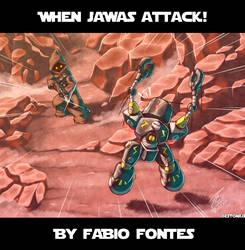 When Jawas Attack! By Fabio Fontes! by Estonius