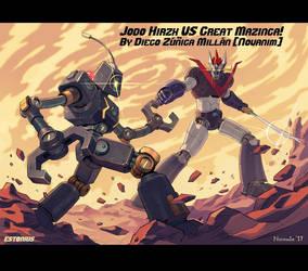 SRW: Jodo Hirzx VS Great Mazinga! By Novanim! by Estonius
