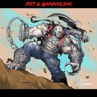 PITT and Gargoylem Team-up! By Kevin Shah! by Estonius