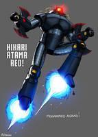 Hikari Atama Red! By Mohammed ''Moh'' Agbadi! by Estonius