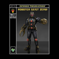 Roboter Geist Zer0! By Ricky Ryan! by Estonius