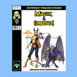 Marvel Team-Up: Magik + Gargoylem! By AbrahamDavid by Estonius