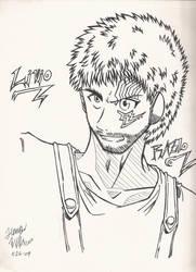 Livio of TRIGUN by Marimokun