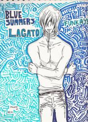 Lagato has leather pants by Marimokun