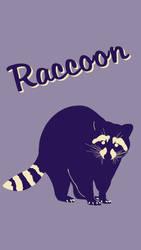 Raccoon Poster 1 by Chongodog