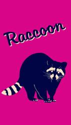 Raccoon Poster 2 by Chongodog