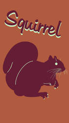Squirrel Poster 2 by Chongodog