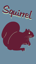 Squirrel Poster 3 by Chongodog