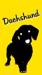 Dachshund Poster 1 by Chongodog