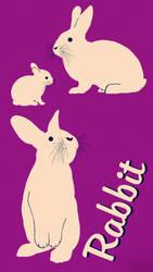 Rabbit Poster 1 by Chongodog