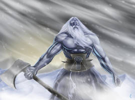 Ulgtharr, the Storm Giant by Chaostouched