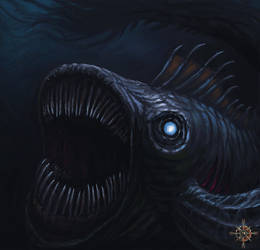 Terror from the deep (speedpainting) by Chaostouched