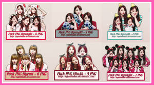[BIG SHARE] Pack PNG Nine Muses by nganbadao