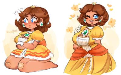 Princess Daisy by PastelBits