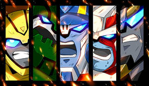 Animated Autobots by mucun