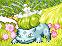 Bulbasaur TCG Pixel Over by SpeedXaaa