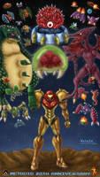 Metroid 28th Anniversary by Wakaba691