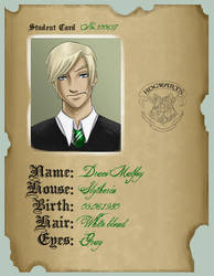 Student Card: Draco by uppuN