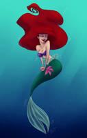 Happy Ariel by uppuN