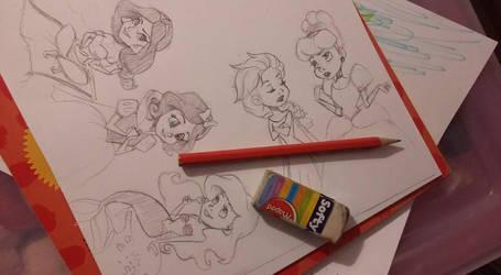 Princess time by uppuN