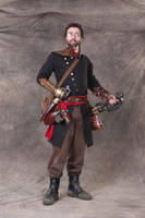 Gunnery Sergeant Jansen Fortier by SteamViking