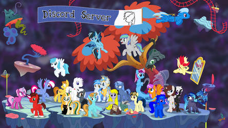 Discord Server Anniversary Vector by MLP-Vector-Collabs