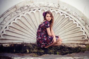 Girl and spring. by SabinaLovegood