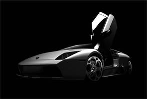 Murcielago Door Up by AdRoiT-Designs