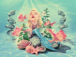 Sad Mermaid by Kluke