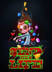 Candy Crash Zombie by Kluke