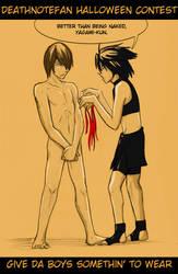 Deathnotefan halloween ad by Go-Devil-Dante