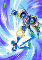 VS TENGU MAN by HitoshiAriga