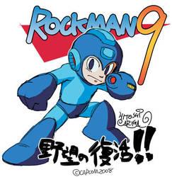 Rockman9 -Yabou no hukkatsu- by HitoshiAriga