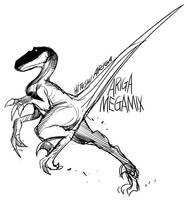 Deinonychus by HitoshiAriga
