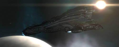 Eve Online - Erebus Titan by LukeDS