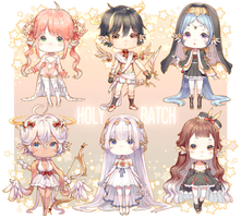 [#06 Left] HOLY ADOPTABLE BATCH [Closed] by AloNiar