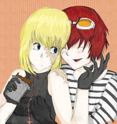 mello and matt by jeevascomplex