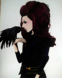 Watercolour Jeffree Star by dragonchickenmonster