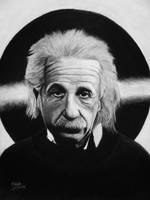 Albert Einstein by Vishvesh99