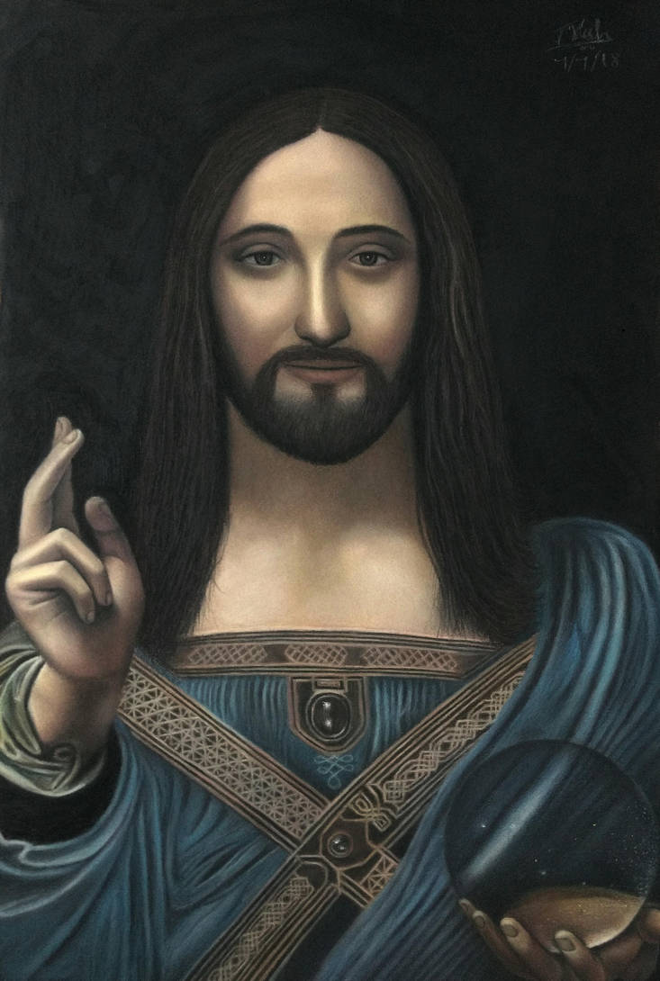 Jesus - the savior of the world by Vishvesh99