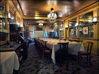 Le Procope, the oldest cafe in Paris by SUDOR