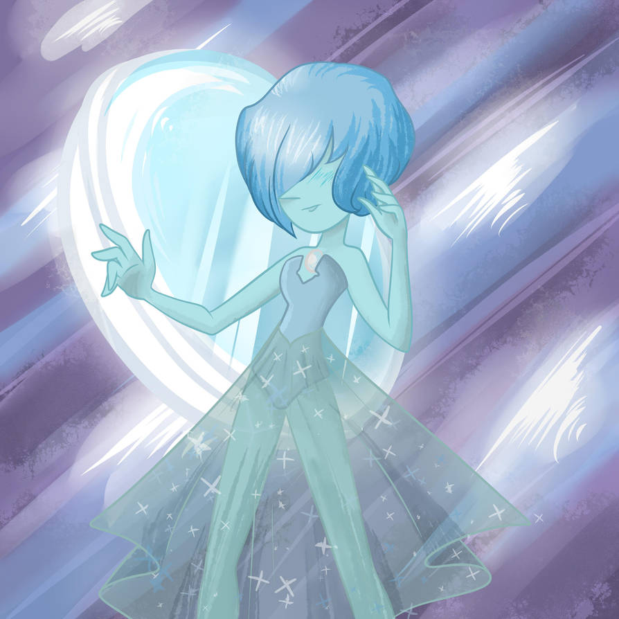 Blue pearl gives me life ಥ‿ಥ