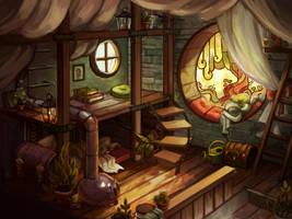 Klaaya`s room by Ewreilyn