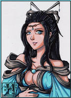 Copic Freebies 3 - DongHua by Hedrick-CS