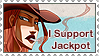 Stamp - I support Jackpot by Hedrick-CS